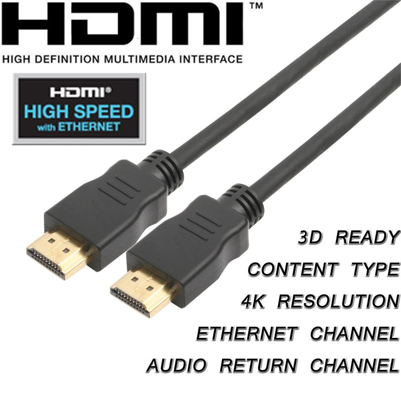 Cablebuilders High Speed Hdmi With Ethernet Cables 50ft