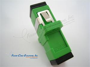 Fiber Optic Coupler, SC, APC, Singlemode, Simplex, RoHS